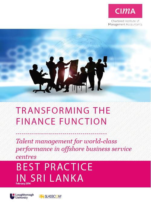Transforming the Finance Function