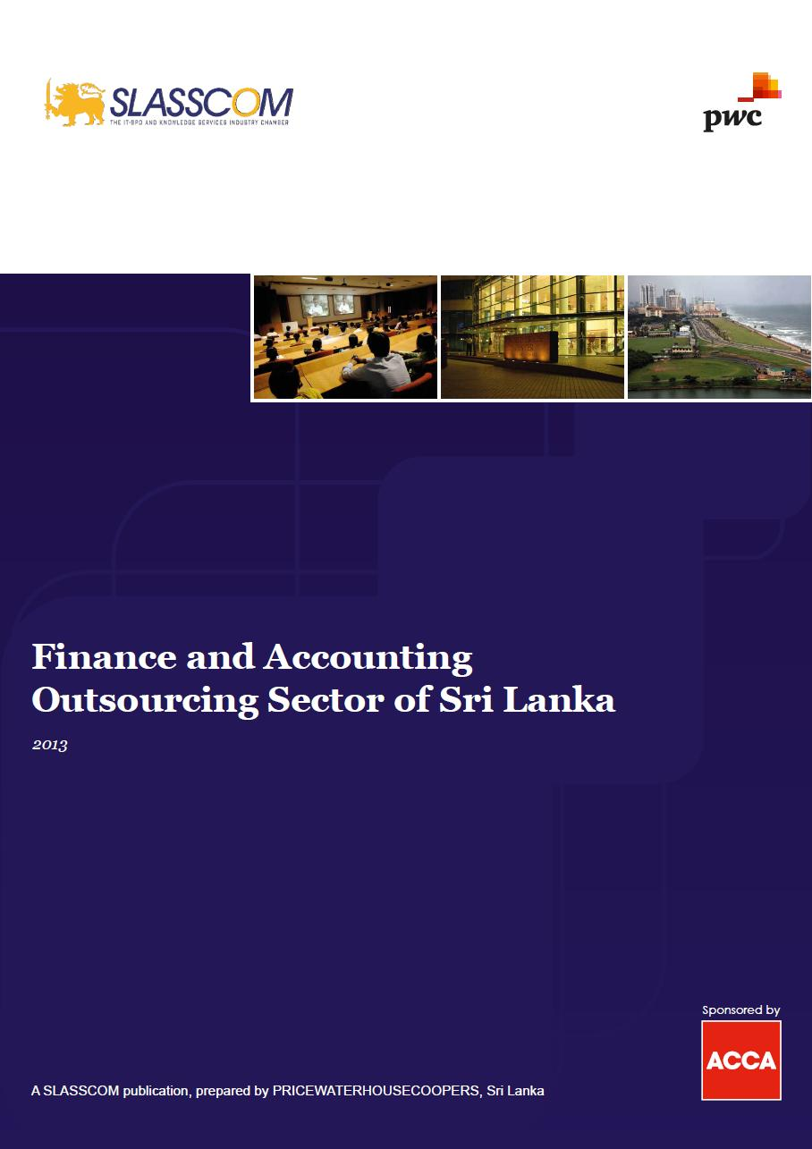 Finance and Accounting Outsourcing Sector of Sri Lanka 2013