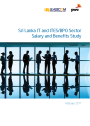 Sri Lanka IT and ITES/BPO Sector Salary and Benefits Study 2012