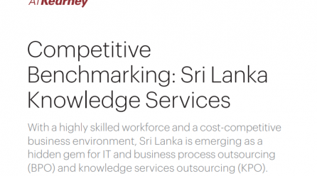 Competitive Benchmarking Sri Lanka Knowledge Services