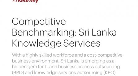 Competitive Benchmarking Sri Lanka Knowledge Services