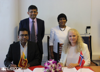 SLASSCOM, Norway sign 2-year agreement on ICT Development and Entrepreneurship