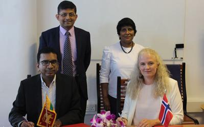 SLASSCOM, Norway sign 2-year agreement on ICT Development and Entrepreneurship
