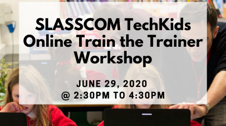 TechKids Train the Trainer sessions